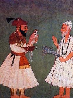 800px-Guru_Gobind_Singh_meets_Guru_Nanak_Dev cropped