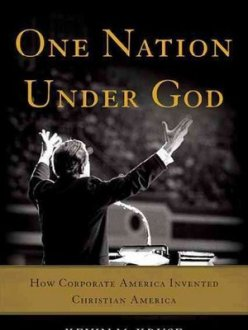 "Cover of Kevin Kruse's book""One Nation Under God."" (Photo source: NPR)"