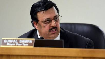 Gurpal Samra is elected as Mayor of Livingston, CA during the 2018 US midterm election.