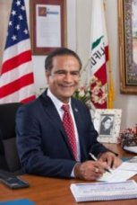 Harry Sidhu was elected Mayor of Anaheim, CA during the 2018 US midterm election.